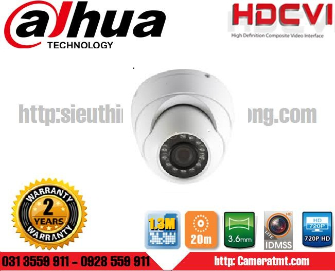 CAMERA DAHUA IPC-HDW1120SP