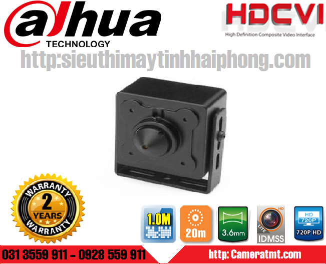 Camera HDCVI mini DAHUA HAC-HUM3101B